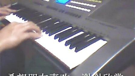 电子琴演奏流行影视歌曲