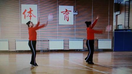 柔力球教学视频背面示范