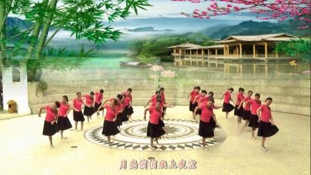 中老年广场舞健身表演